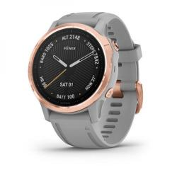 Fenix 6S Sapphire Gray Rose Gold with Gray Band
