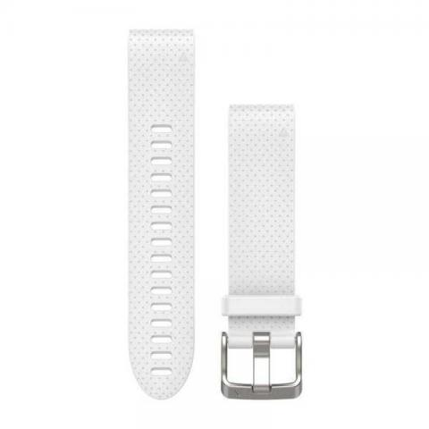 QuickFit band 20 mm White silicone