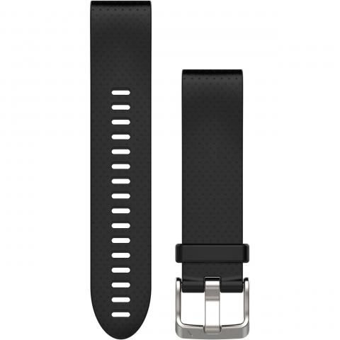 QuickFit band 20 mm Black silicone