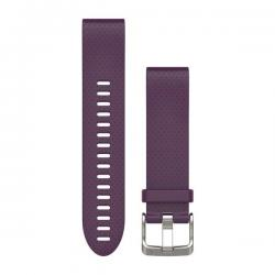 QuickFit band 20 mm Amethyst purple silicone