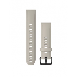 QuickFit Band 20mm Light Sand Silicone