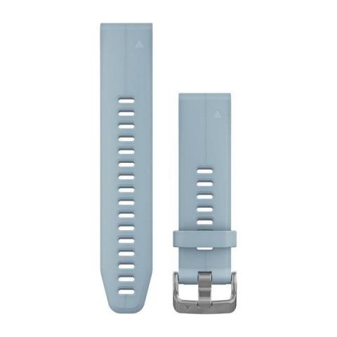 QuickFit 20mm Band Sea Foam Blue Silicone