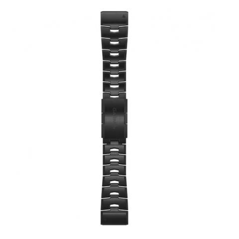 QuickFit Band 26mm Vented Titanium Bracelet with Carbon Gray DLC