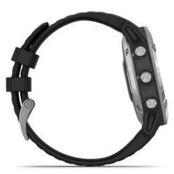 Fenix 6 Black Silver with Black Band