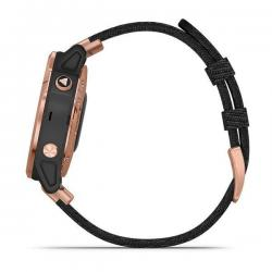 Fenix 6S Sapphire Black Rose Gold with Nylon Band