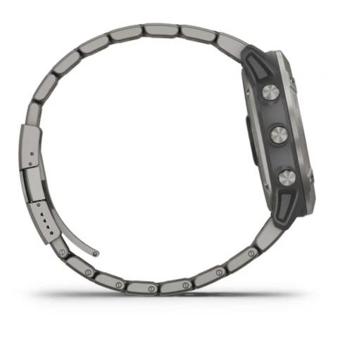 Fenix 6X Pro Solar Titanium with Vented Titanium Bracelet