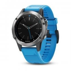 Quatix 5 Stainless Steel with Blue Band