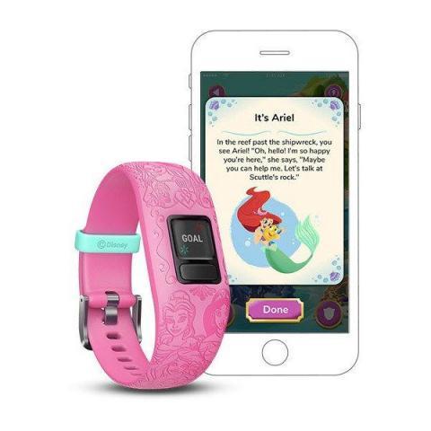 Vivofit jr. 2 Activity Monitors 6+ / Princess Pink