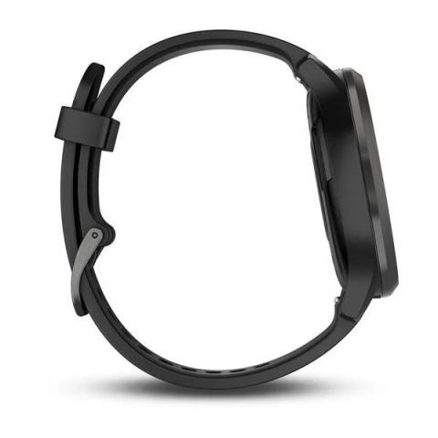 Vivomove HR Black with Slate Hardware